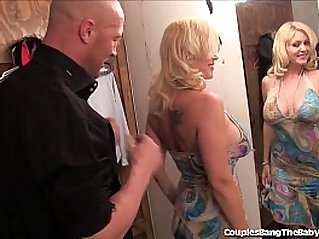 Horny Couple Has Threesome With sexy Teen Babysitter!