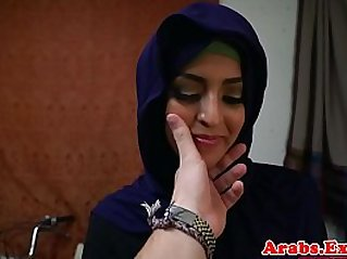 Arab babe throathed and fucked deep