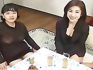 Japanese Older Lesbos Love Fur Pie Uncensored