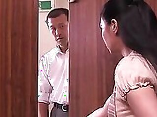 Choco Japanese wife seduced by horny stranger