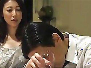 Collared wife fucks the husbands boss