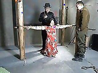 Alyaboy chinese girl bondage walk