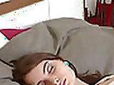 Blonde Czech MILF Slips For Sister In Dorm Coat