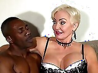 Hot GILF Fucking With The BBC